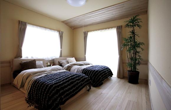 使っていなかった部屋を夫婦の寝室に変更。
